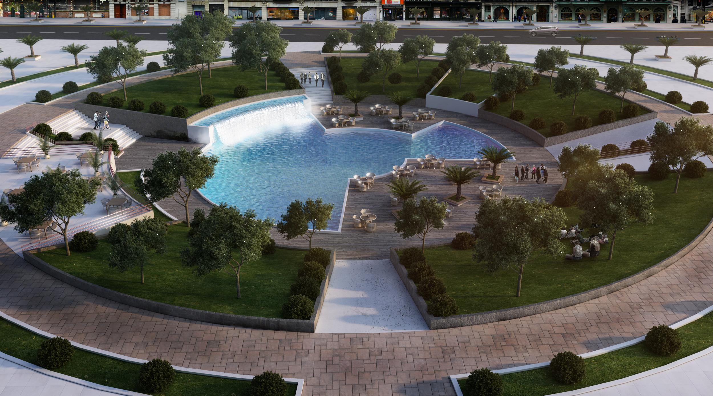 public square in Jeddah