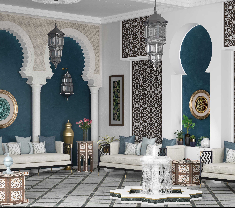 andalusian design hall in riyadh