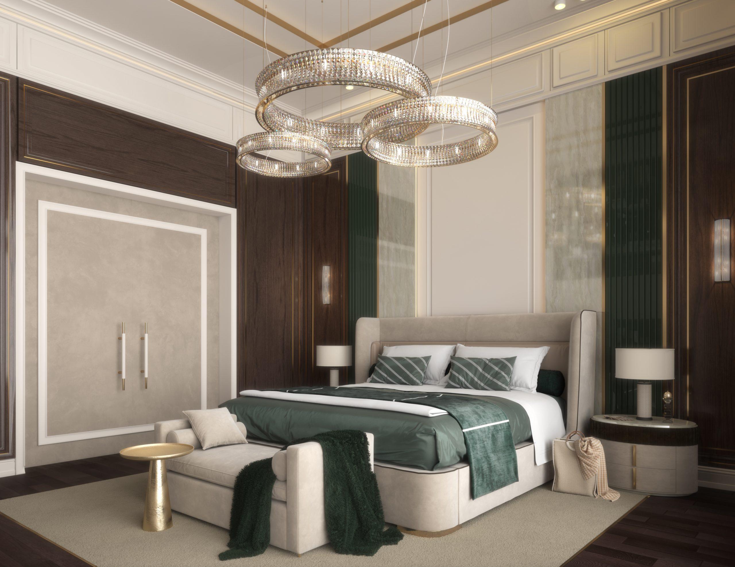 HRarchZ Architect Studio - Contemporary Bedroom (Doha,Qatar)