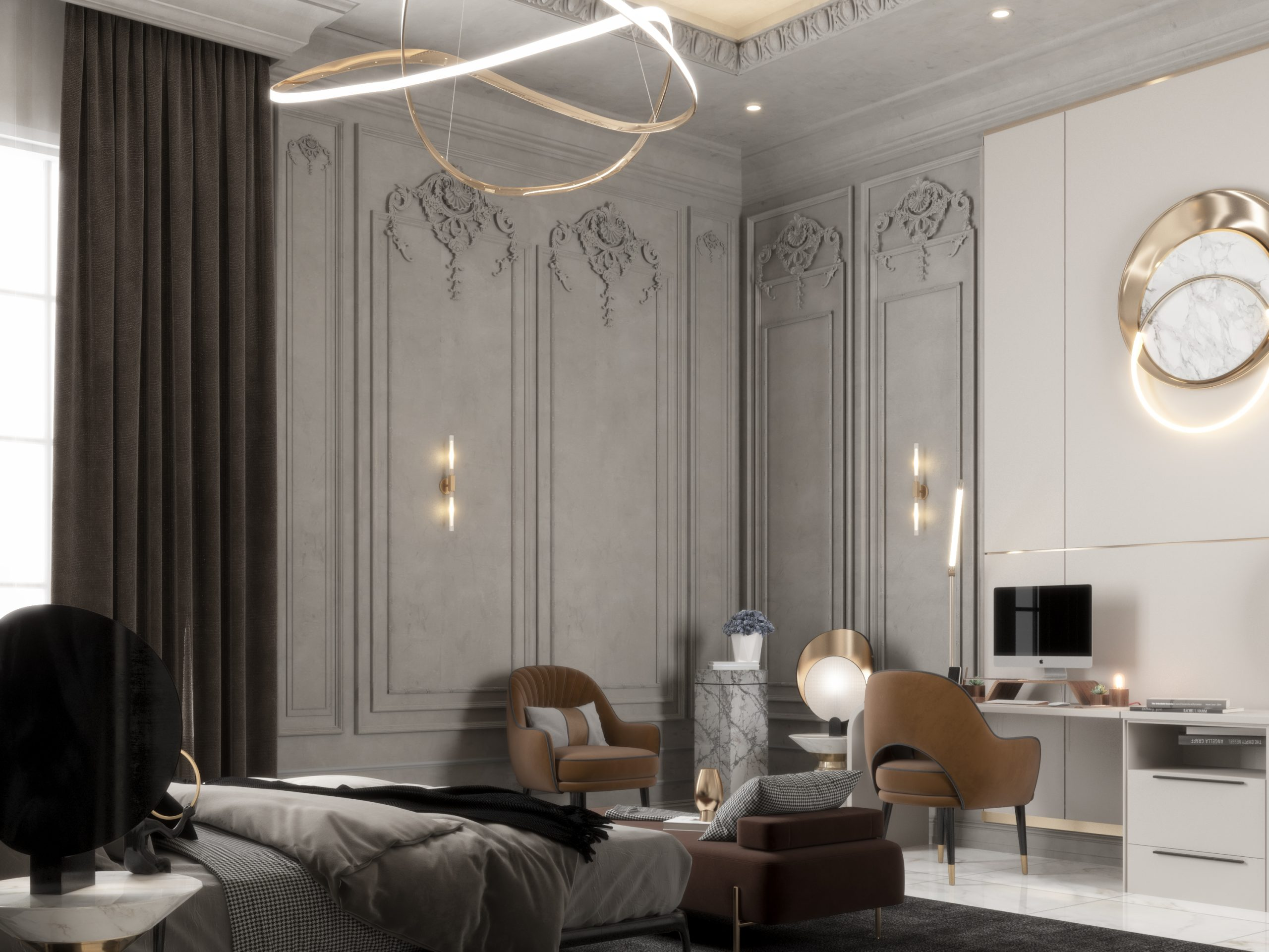classic & modern design for boys bedroom