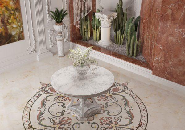 floor design - water jet - show area