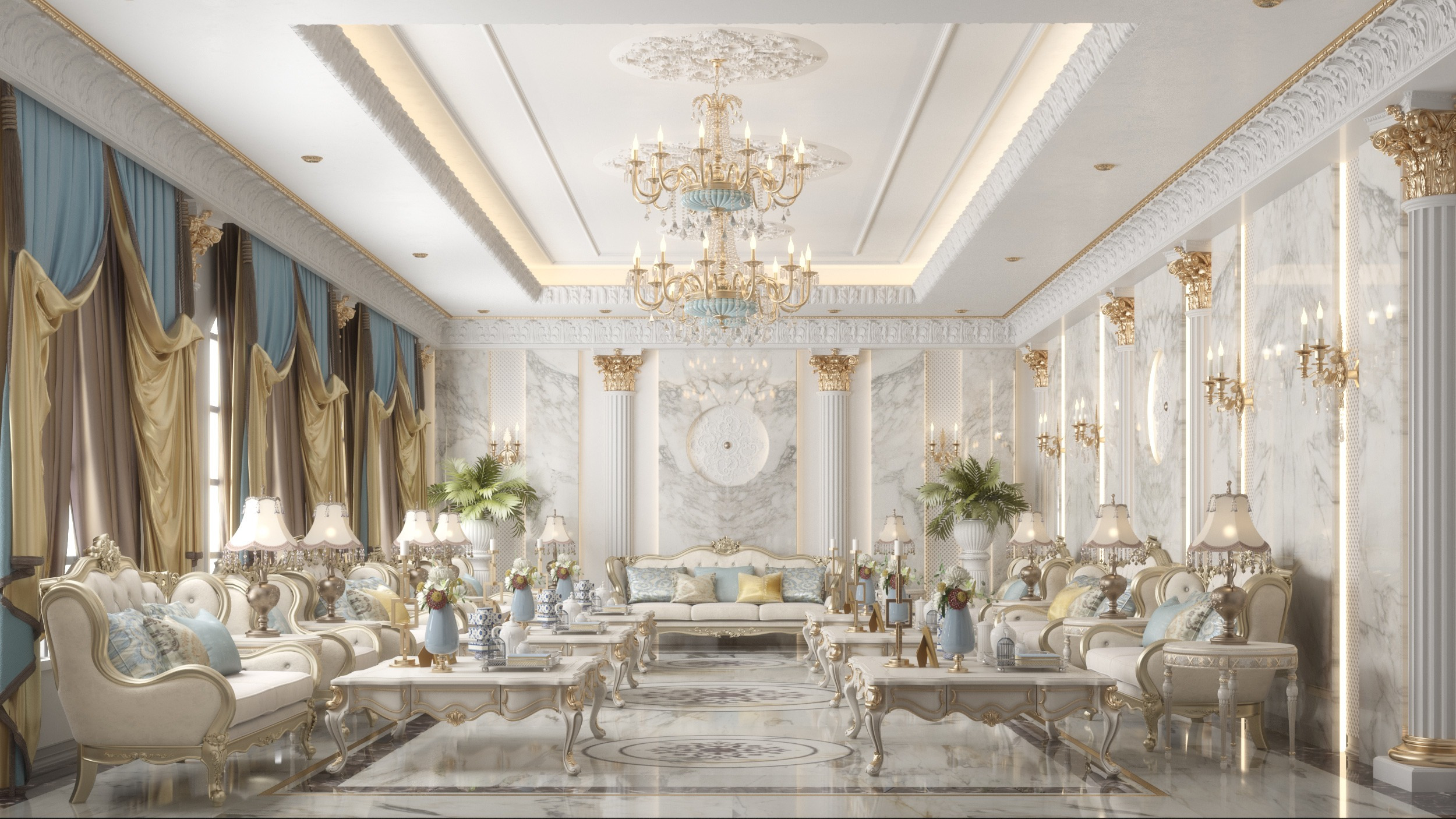 luxurious men majles