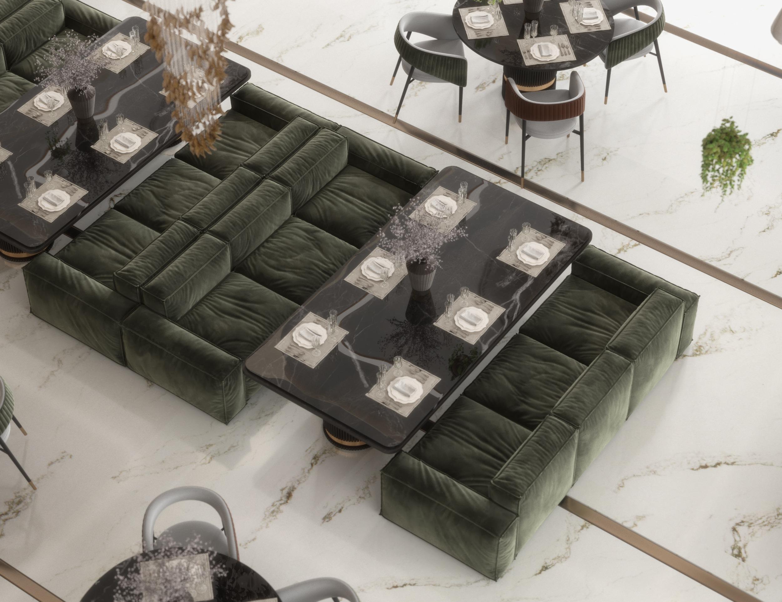 sofa design in lucerne restaurant