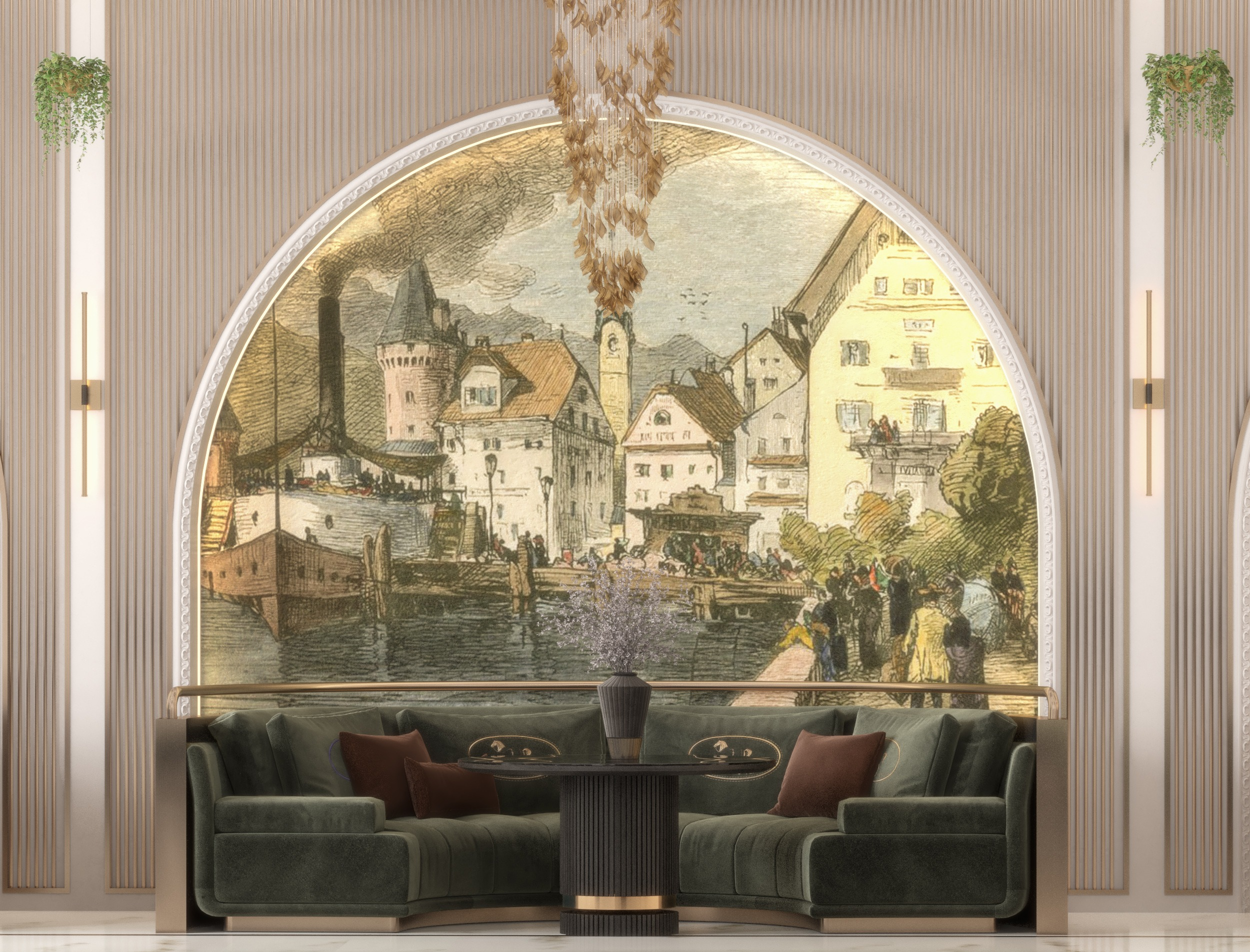 lucerne city in Switzerland restaurant in UAE