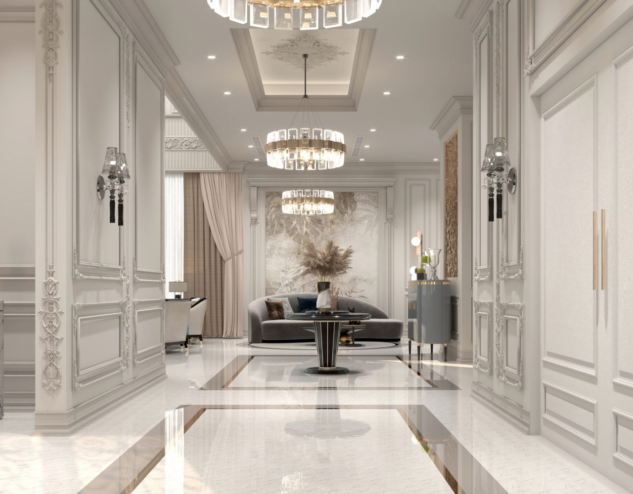 corridor main hall