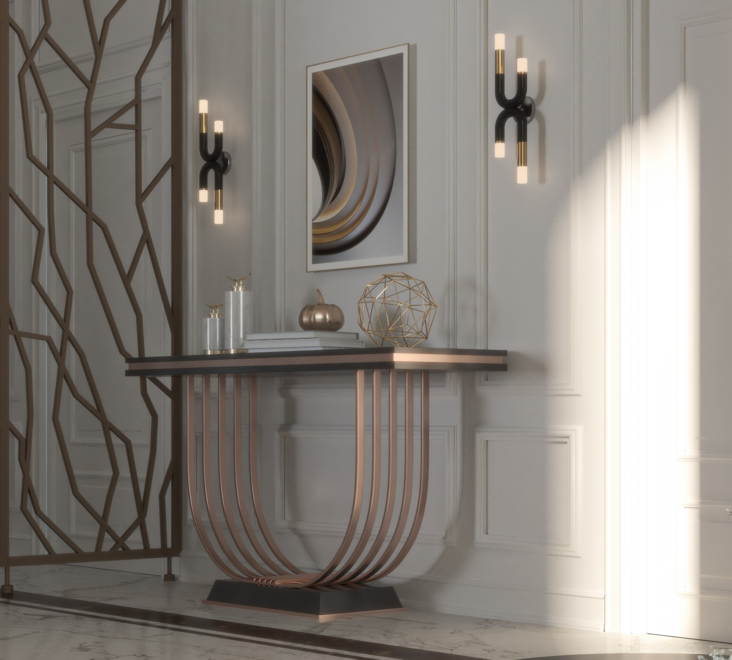 wall light - wall decoration - stand -