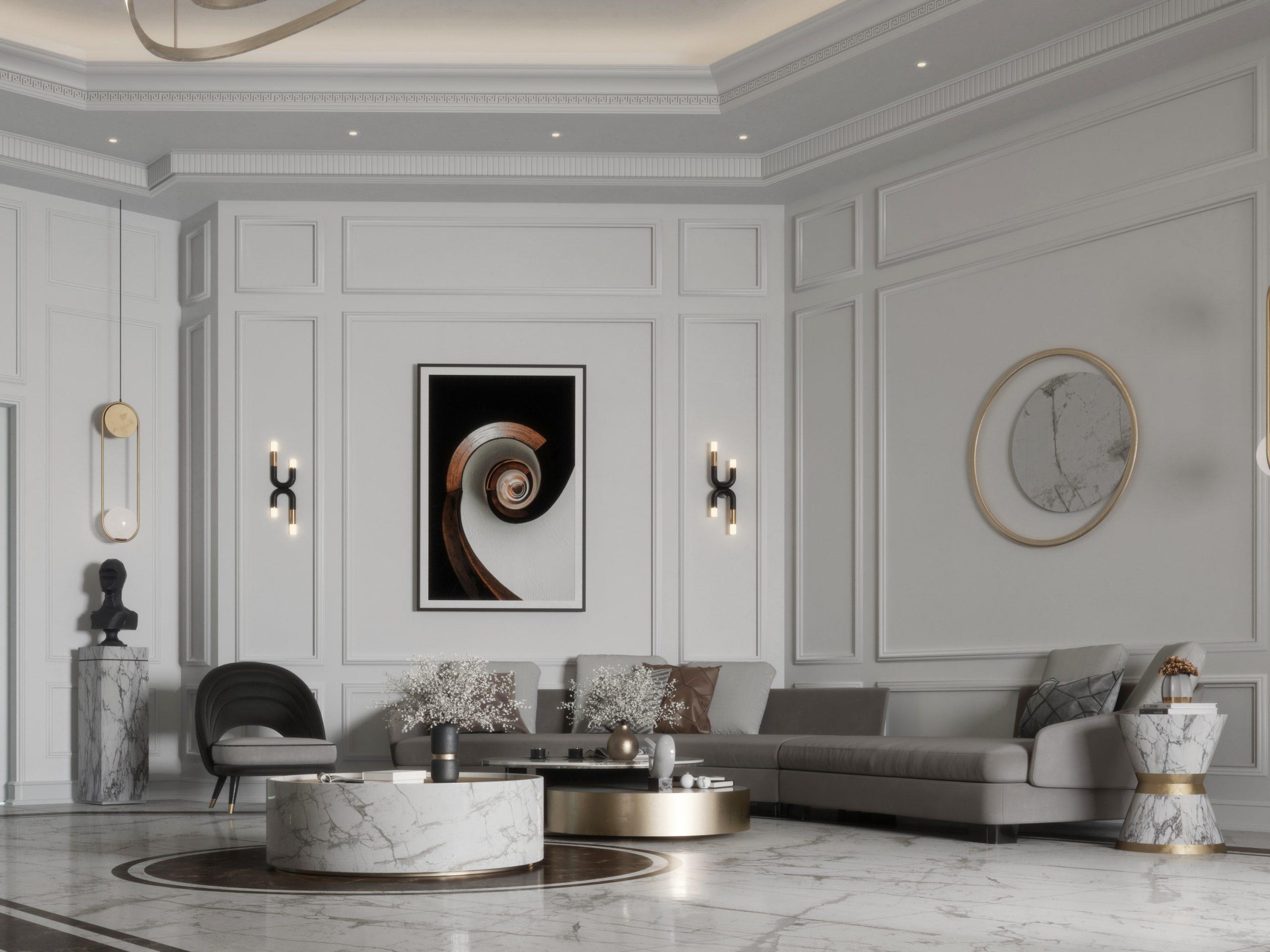 main hall - design