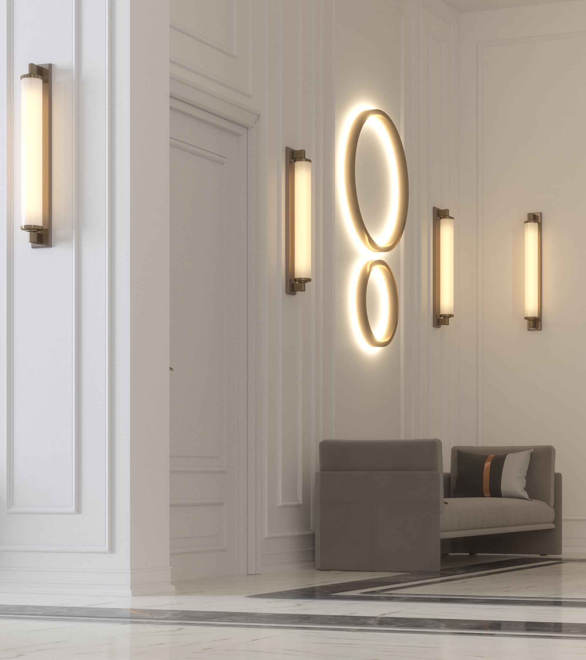 corridor wall design - light work -