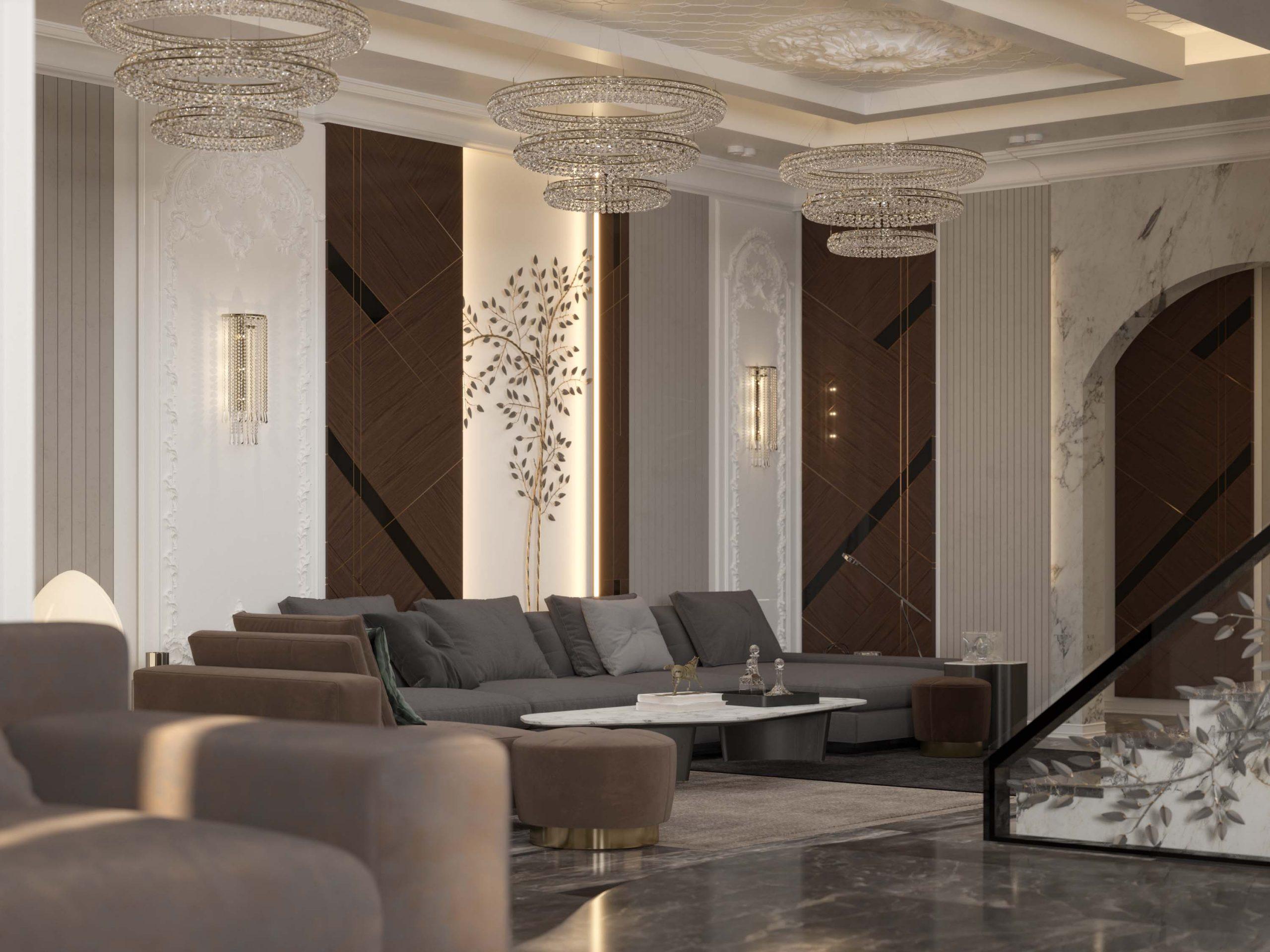 sitting room -sitting area - tree -wood