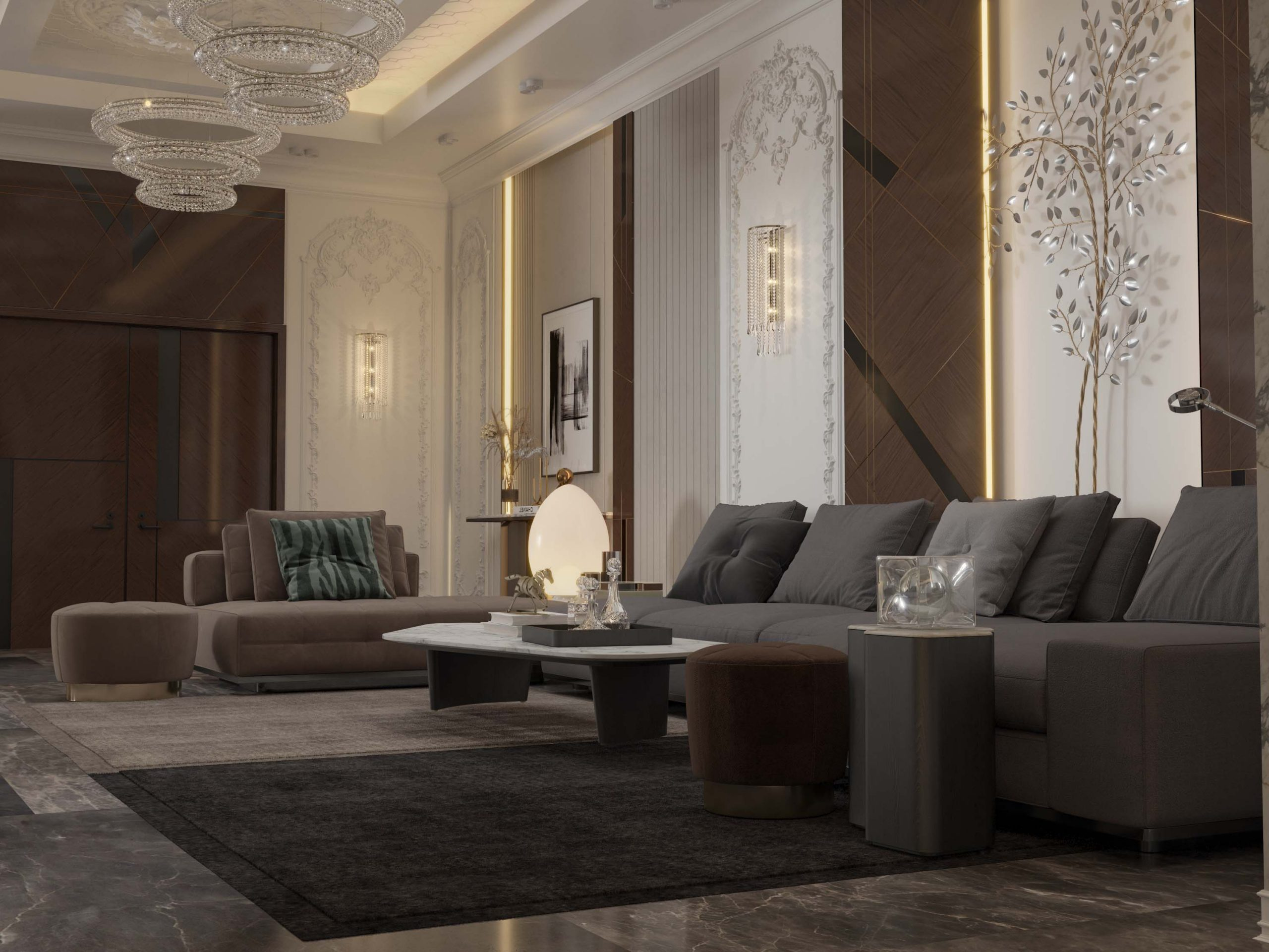 sitting area - sitting room - main hall - sofas