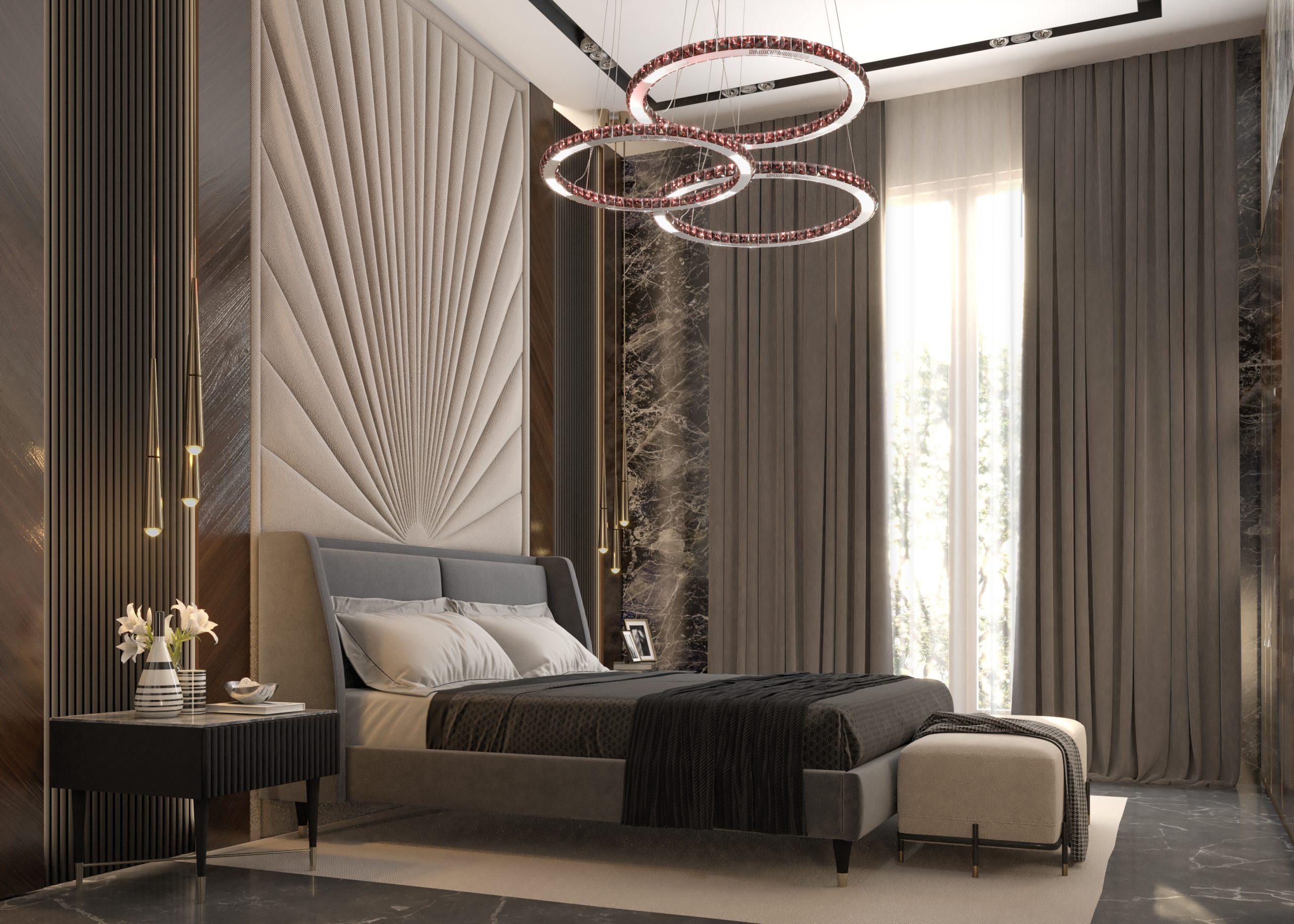 GUEST ROOM - BEDROOM - BROWN