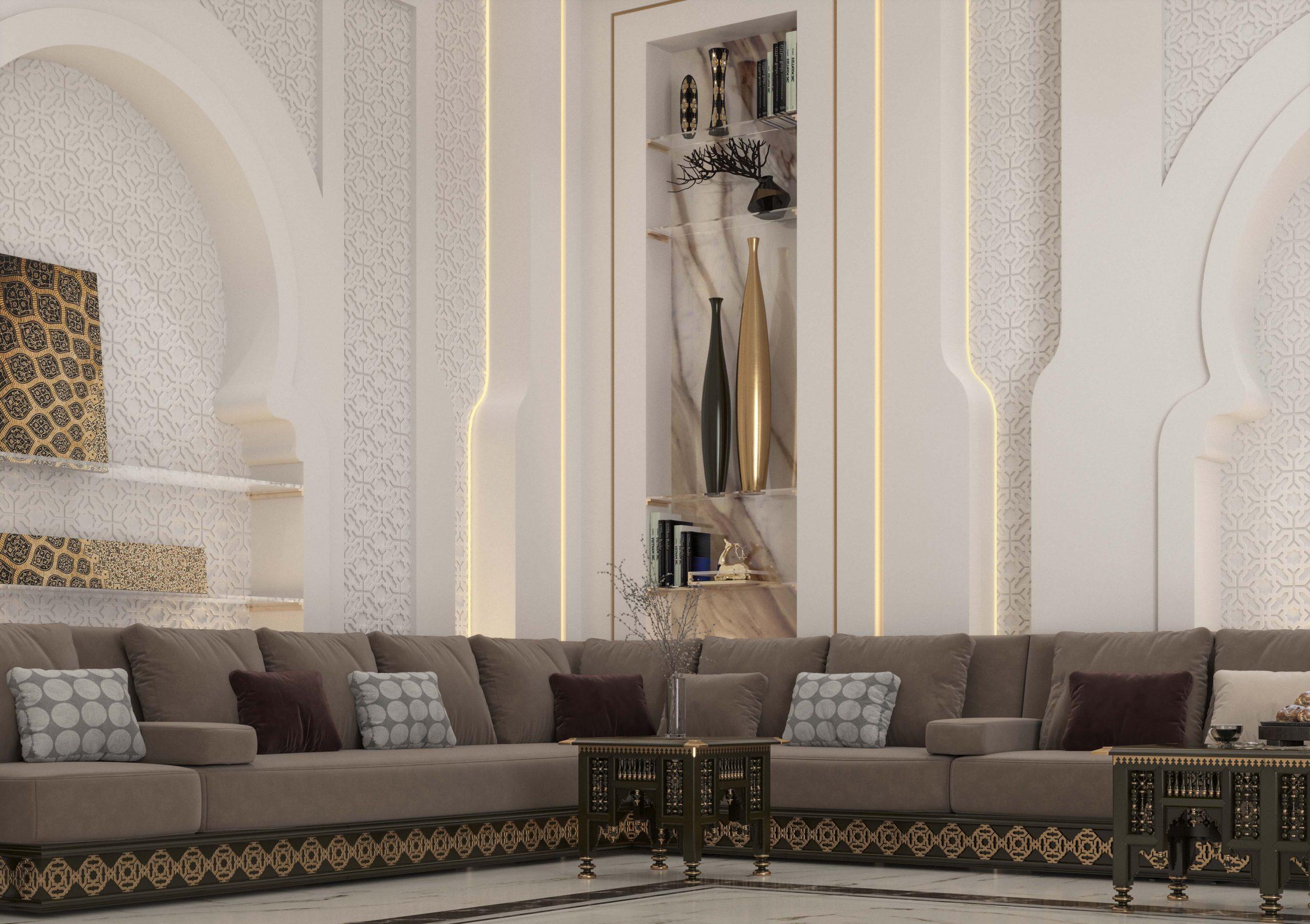 modern touch - islamic design - islamic sofa