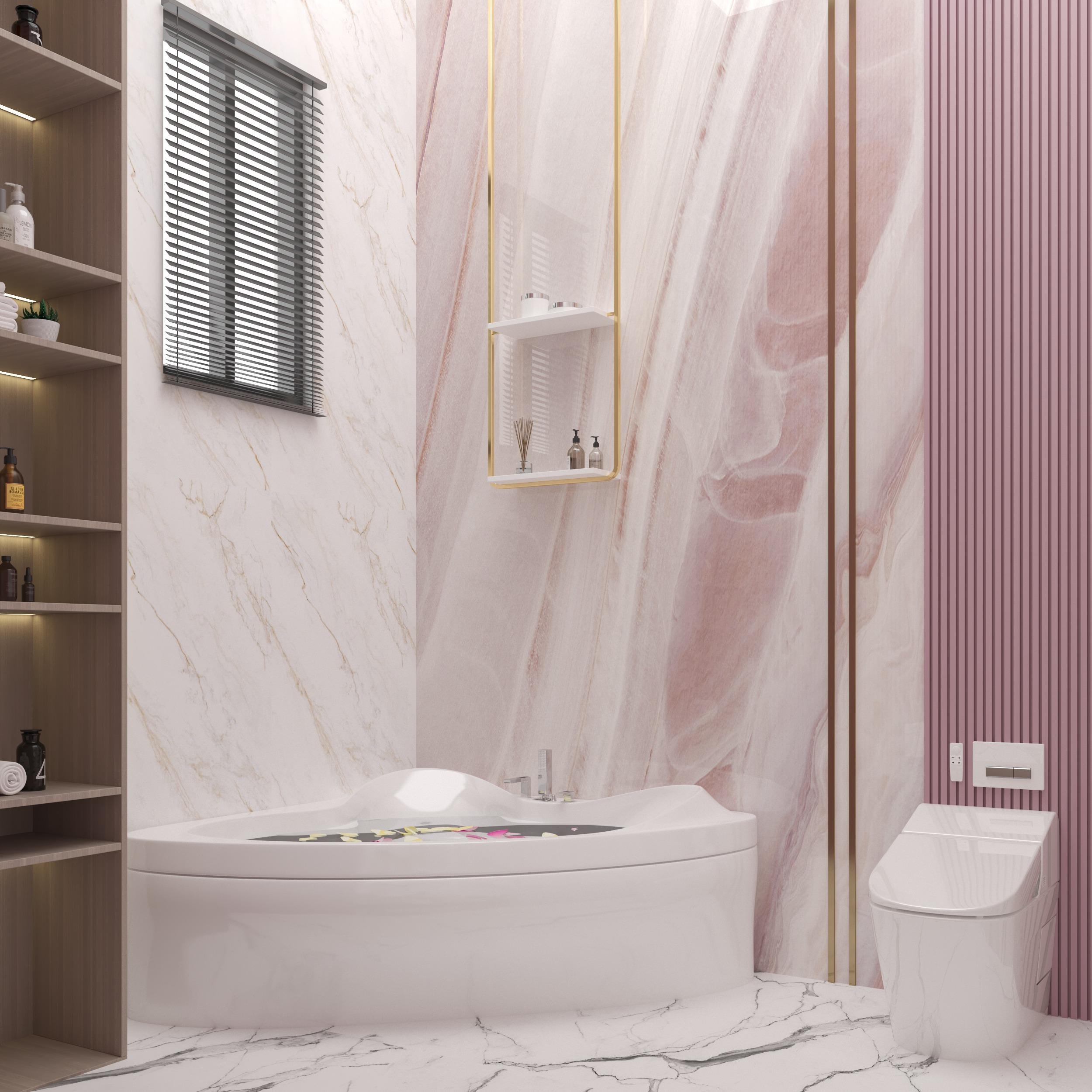 BATH TUB - PINK - BATHROOM