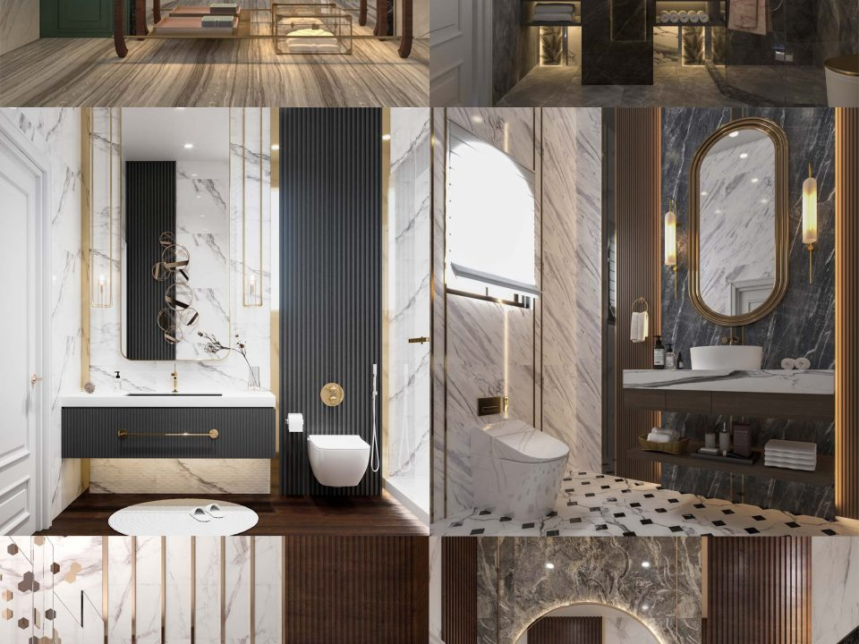 WELL DESIGNED BATHROOMS