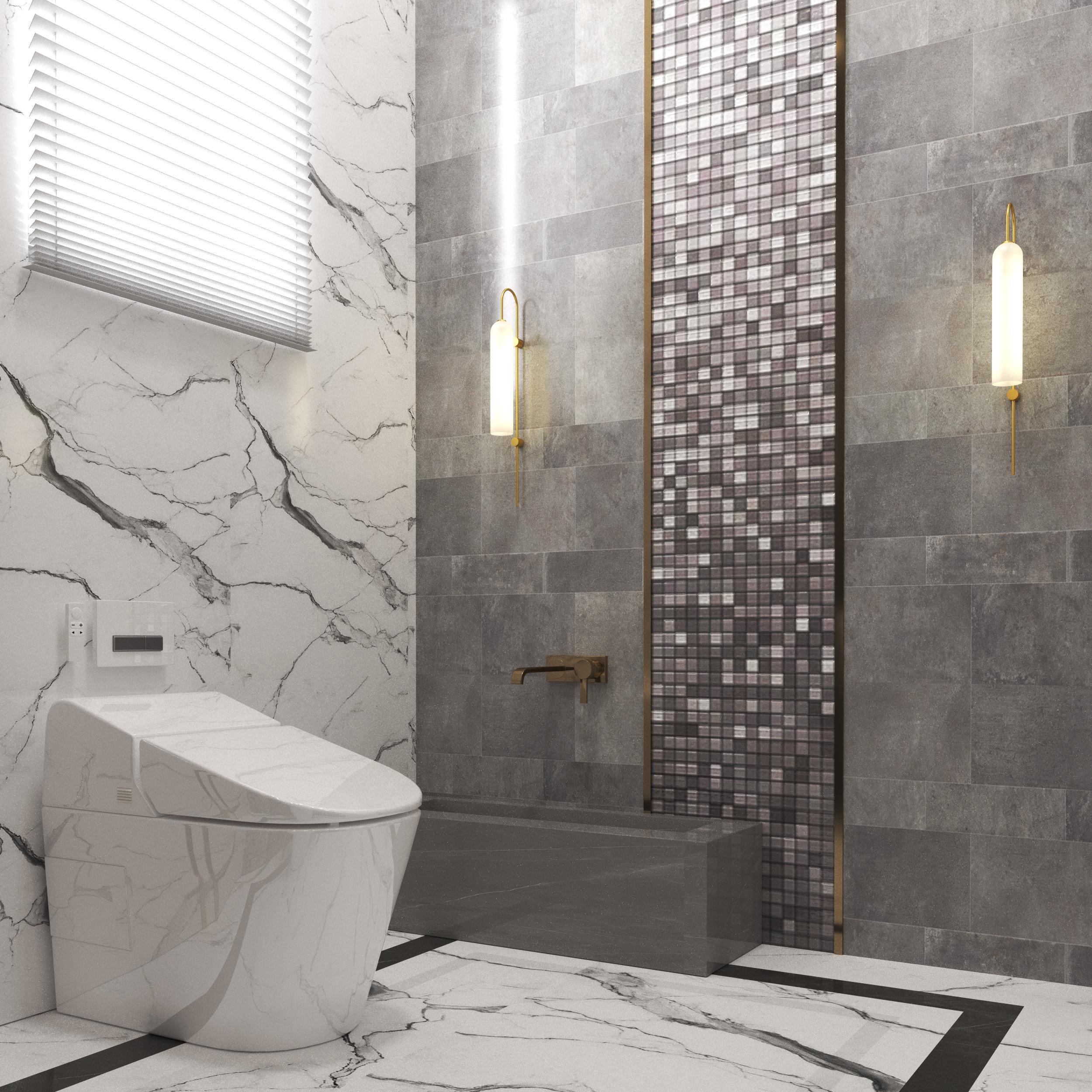 BATHROOMS - DESIGNING - MARBLE