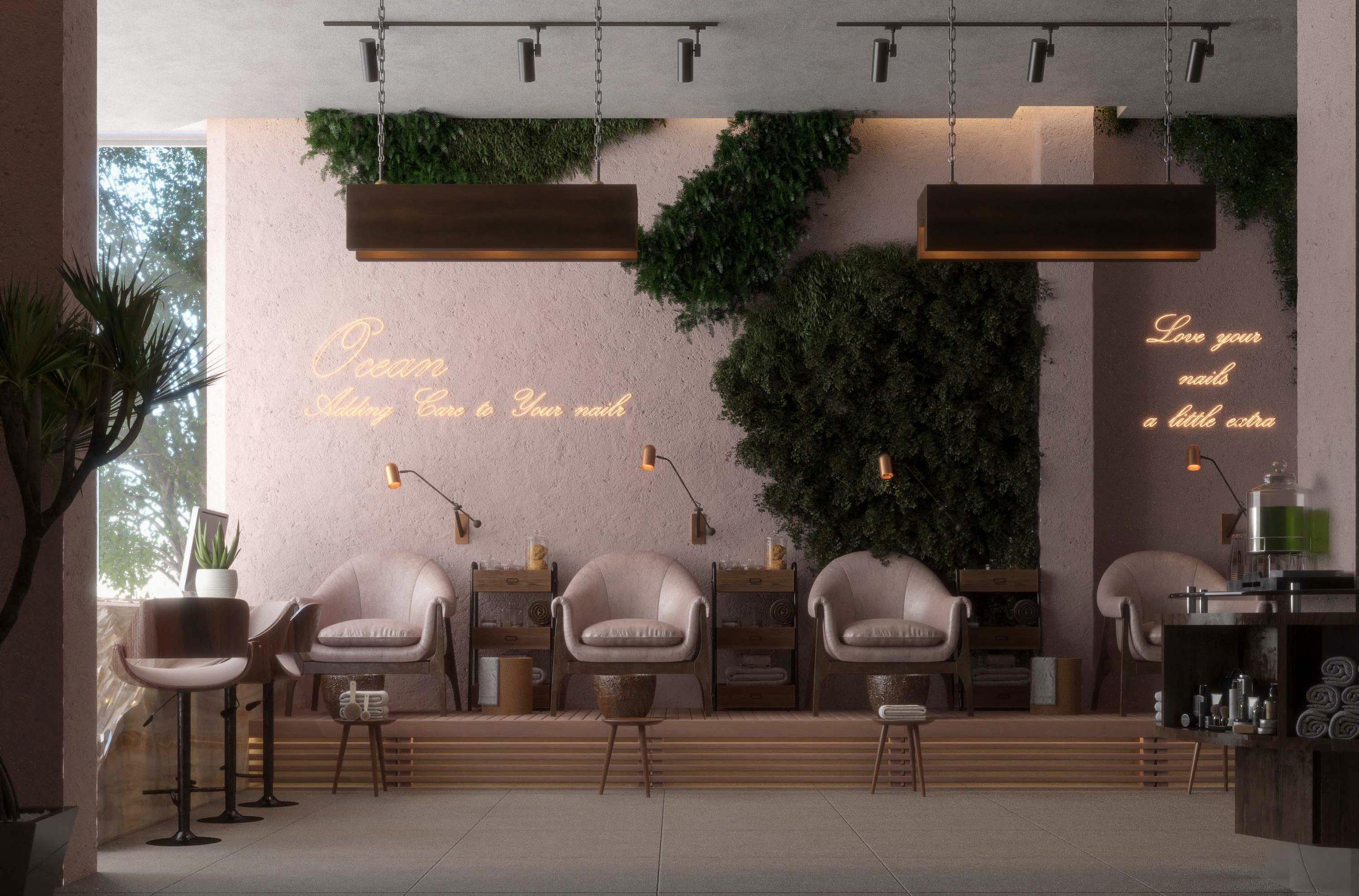 big pic - ocean spa design - plants - spa