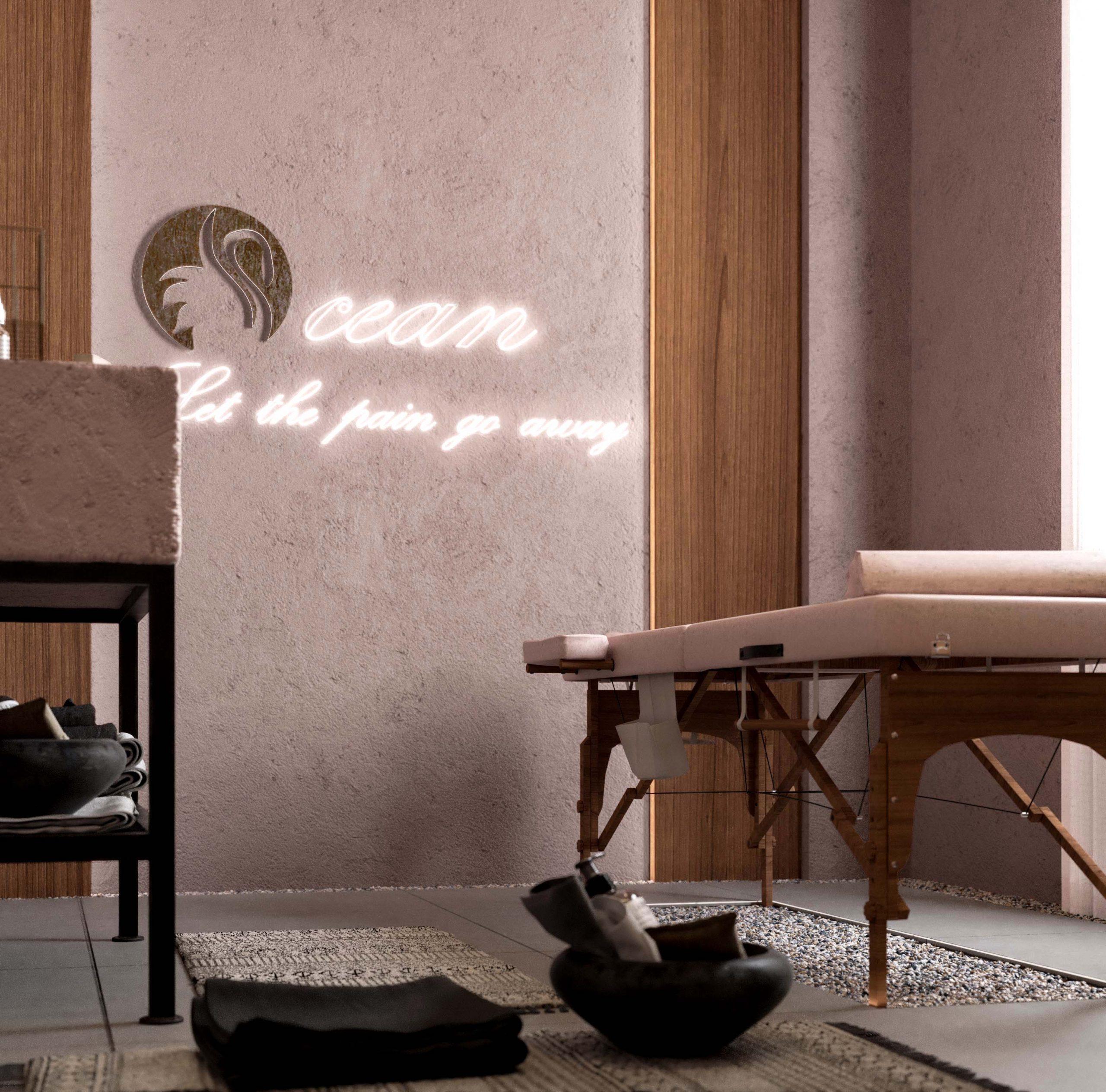 massage section