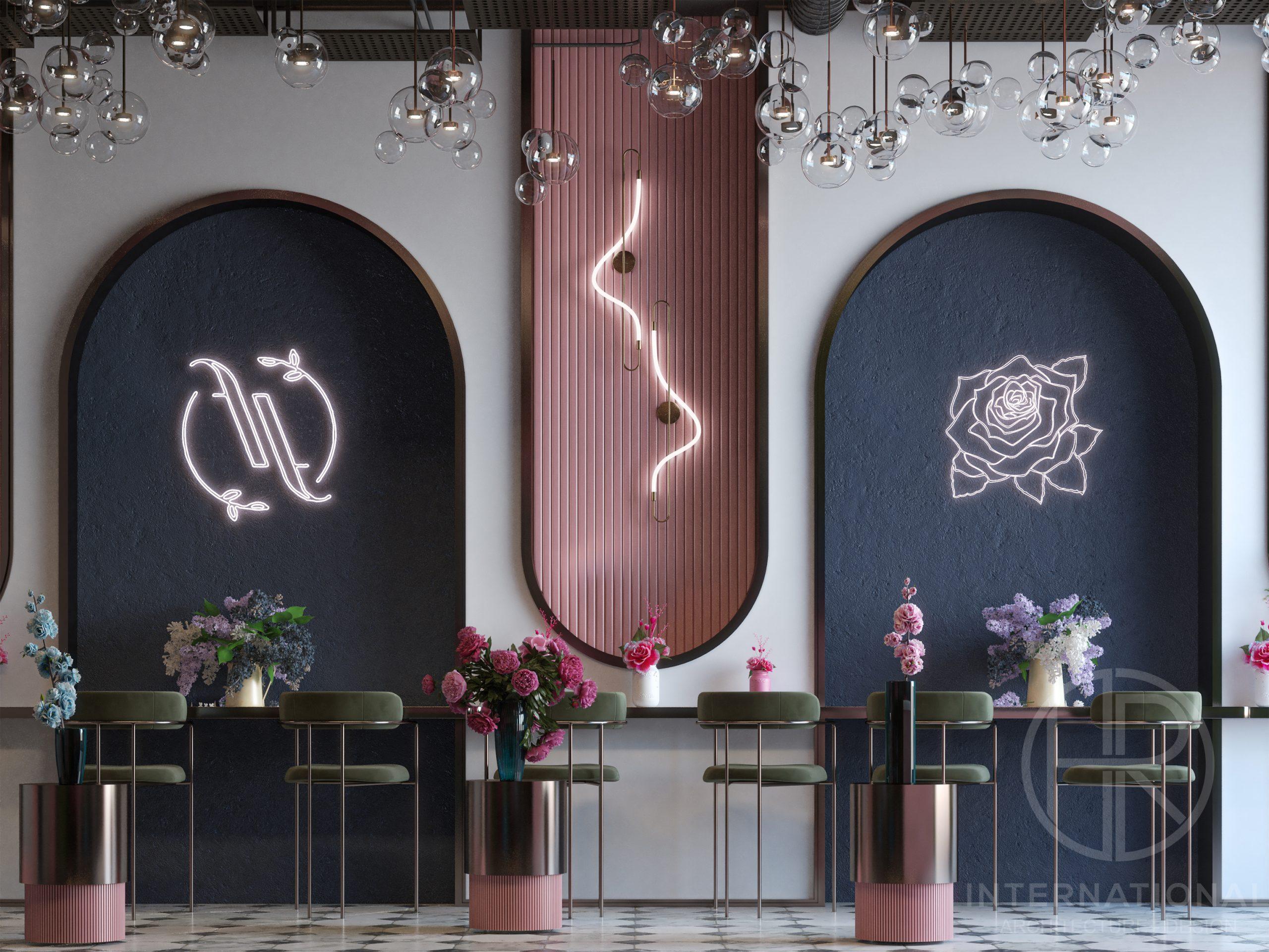 FLOUR & FLORET DESIGN - color combination - golden details