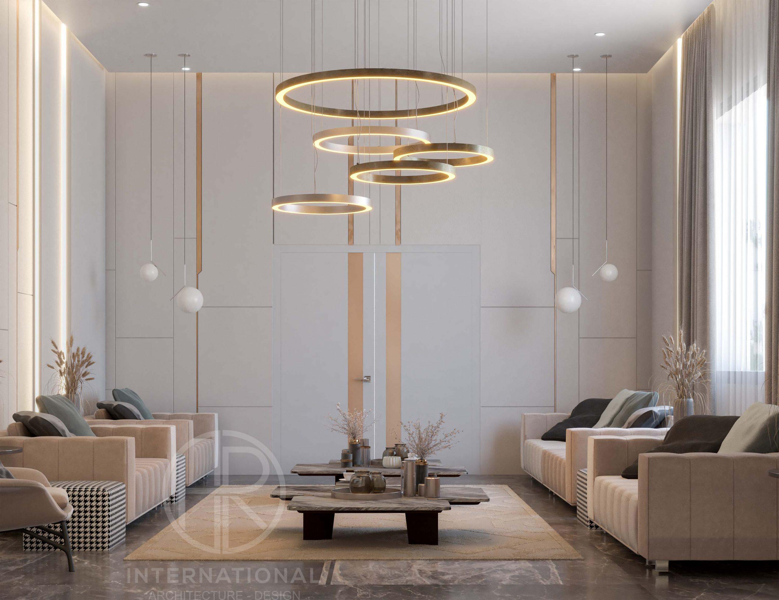 SOFT MOOD MEN'S MAJLES - circle light - golden lighting - door -modern design