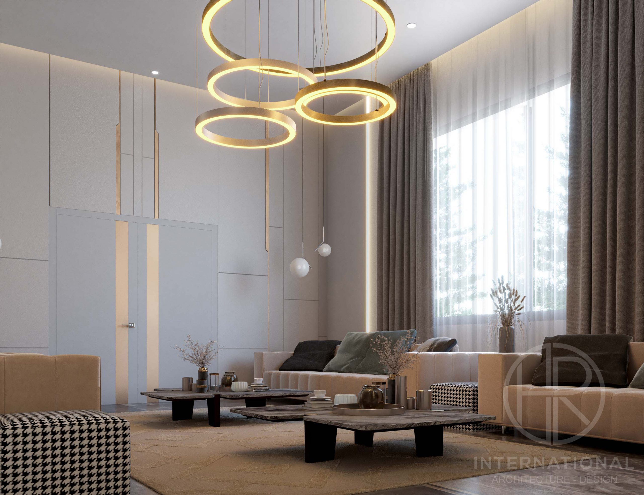 soft colors - soft mood - gold - modern design