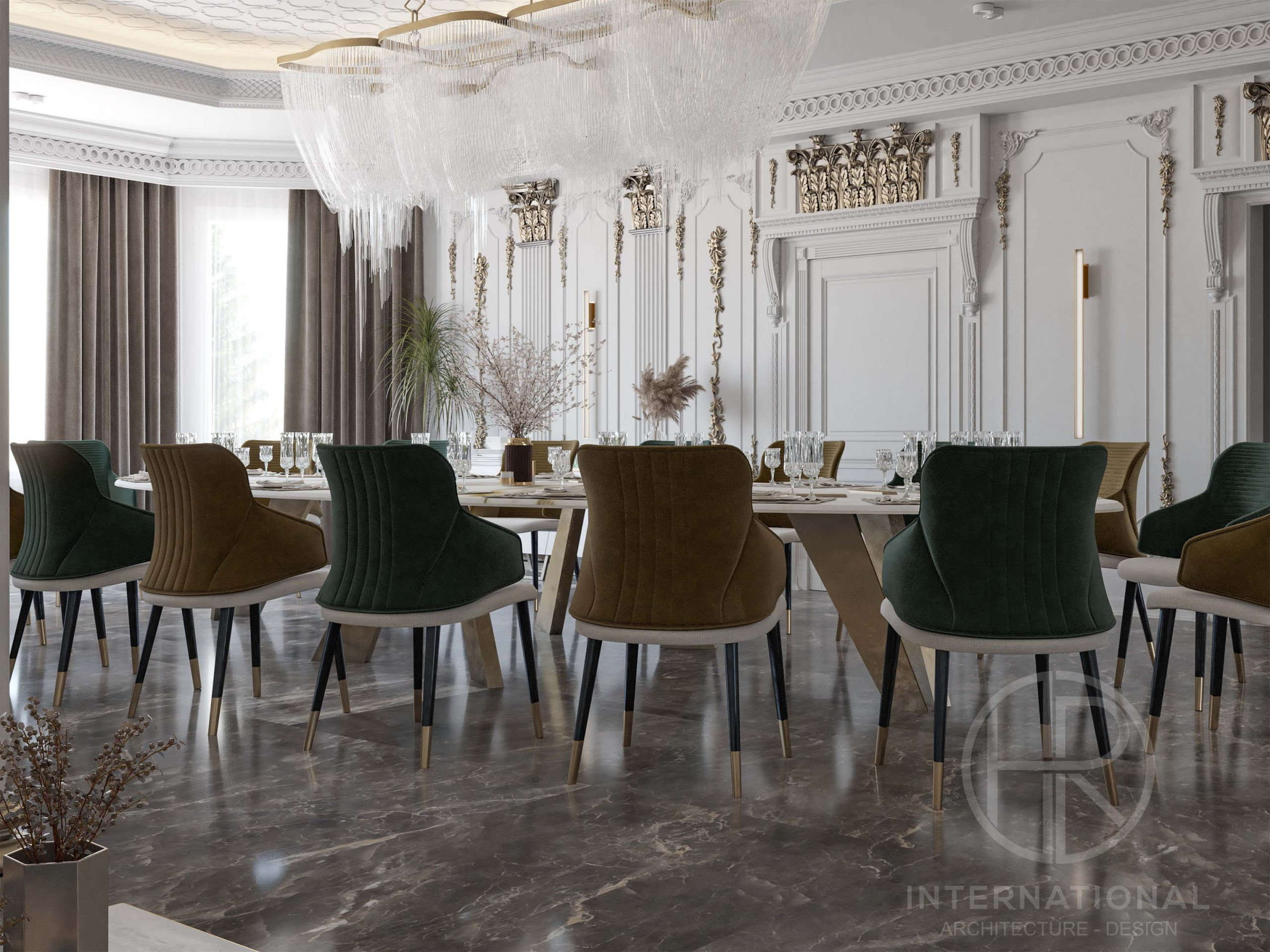 DELUX DINING ROOM - DINING ROOM - TABLE