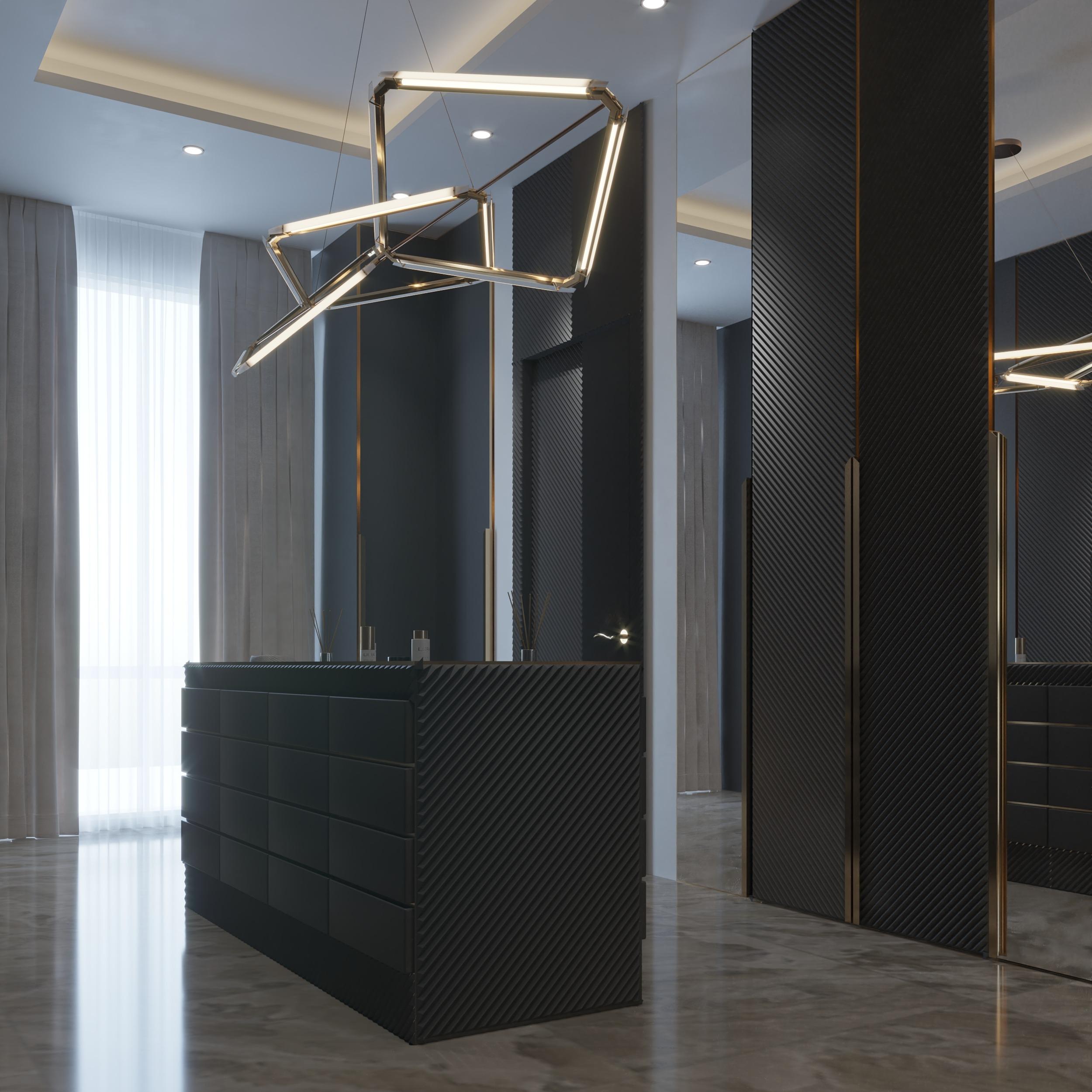 dressing room designs - dressing - mem dressing rom - black - golden