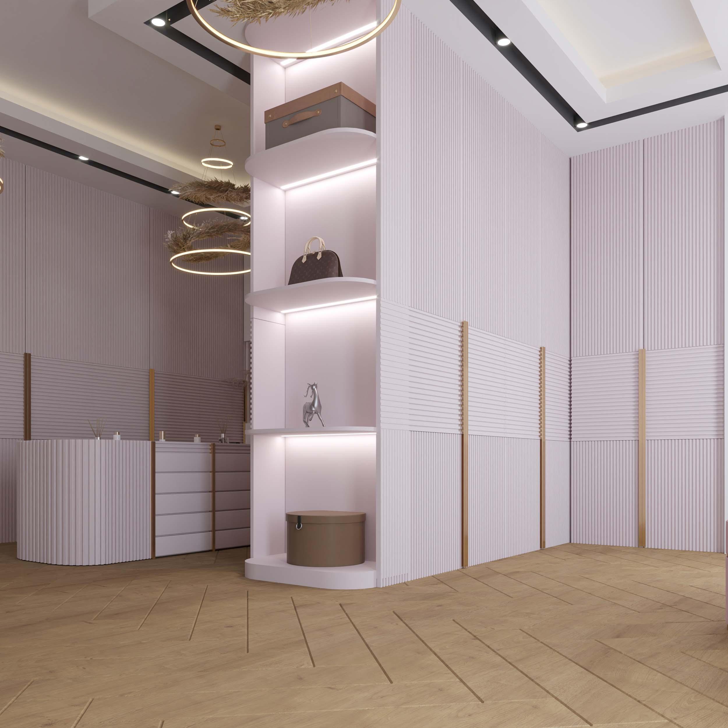 shelves design - light work - hidden lights
