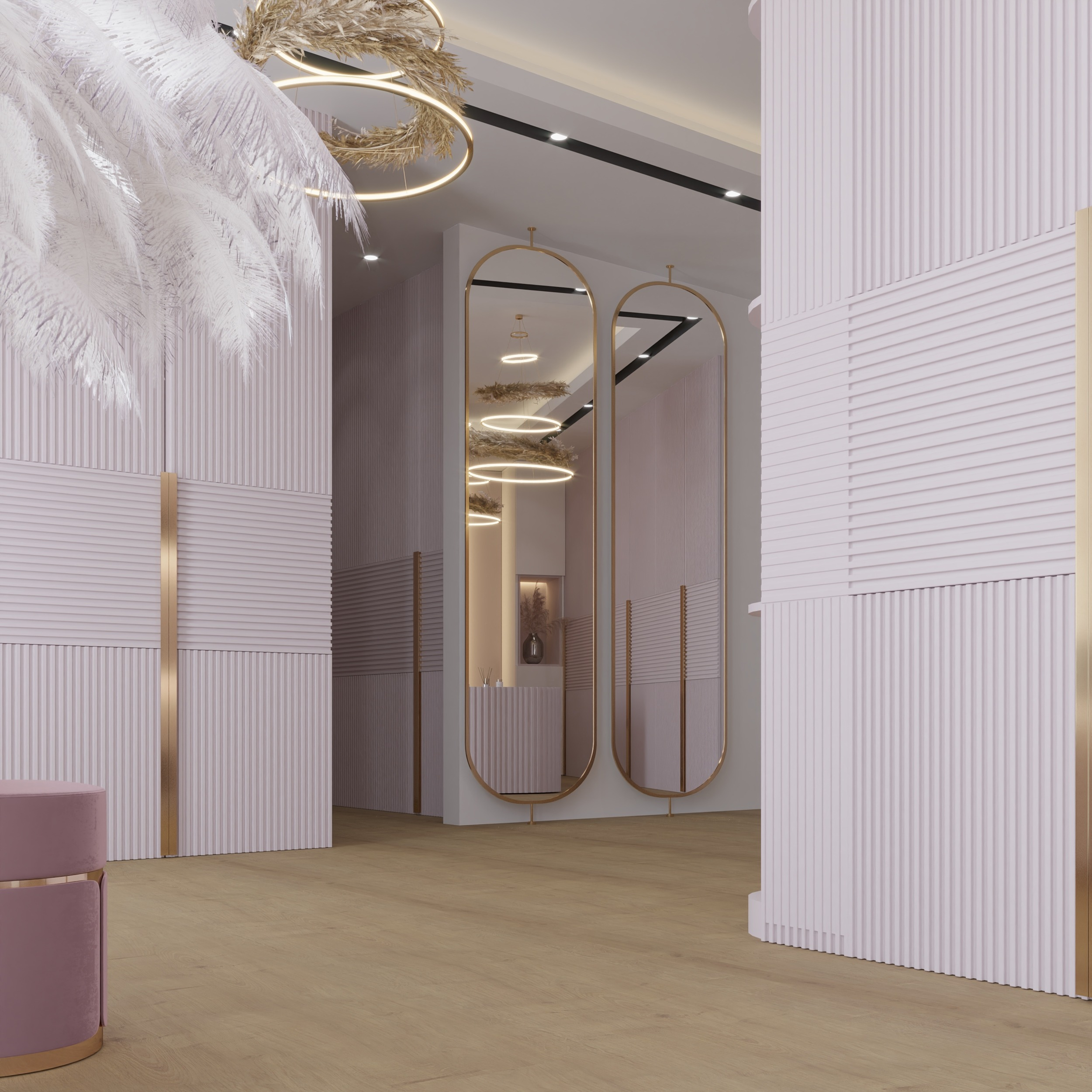 women dressing room - decoration - design