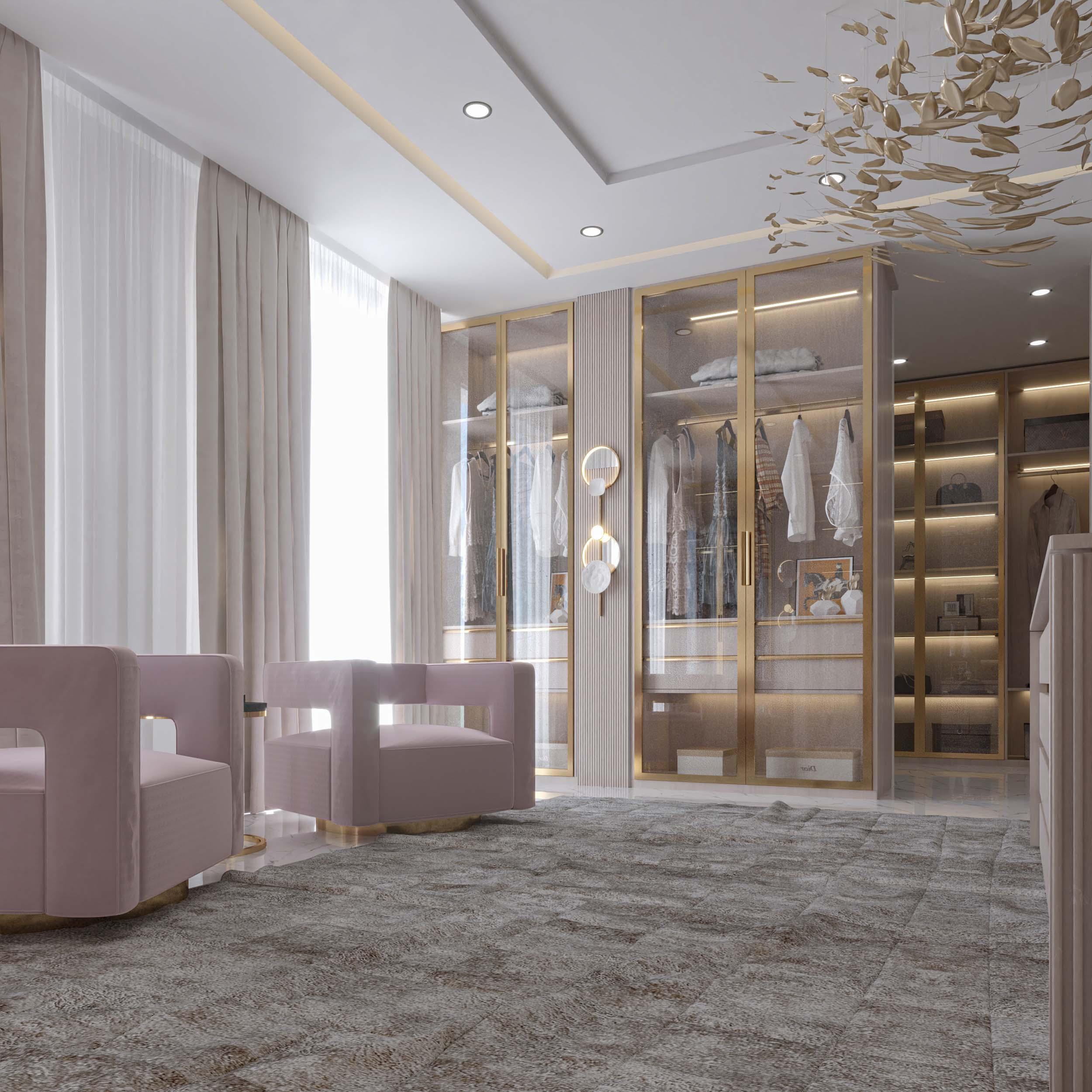 dressing room designs - light work