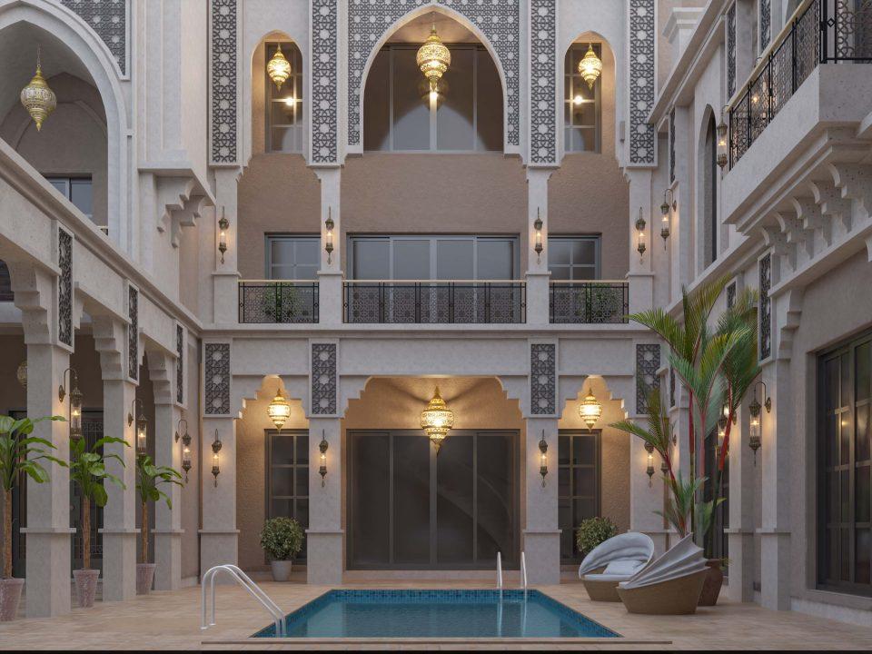 ISLAMIC STYLE VILLA - Khalifa style - amazing design - islamic art