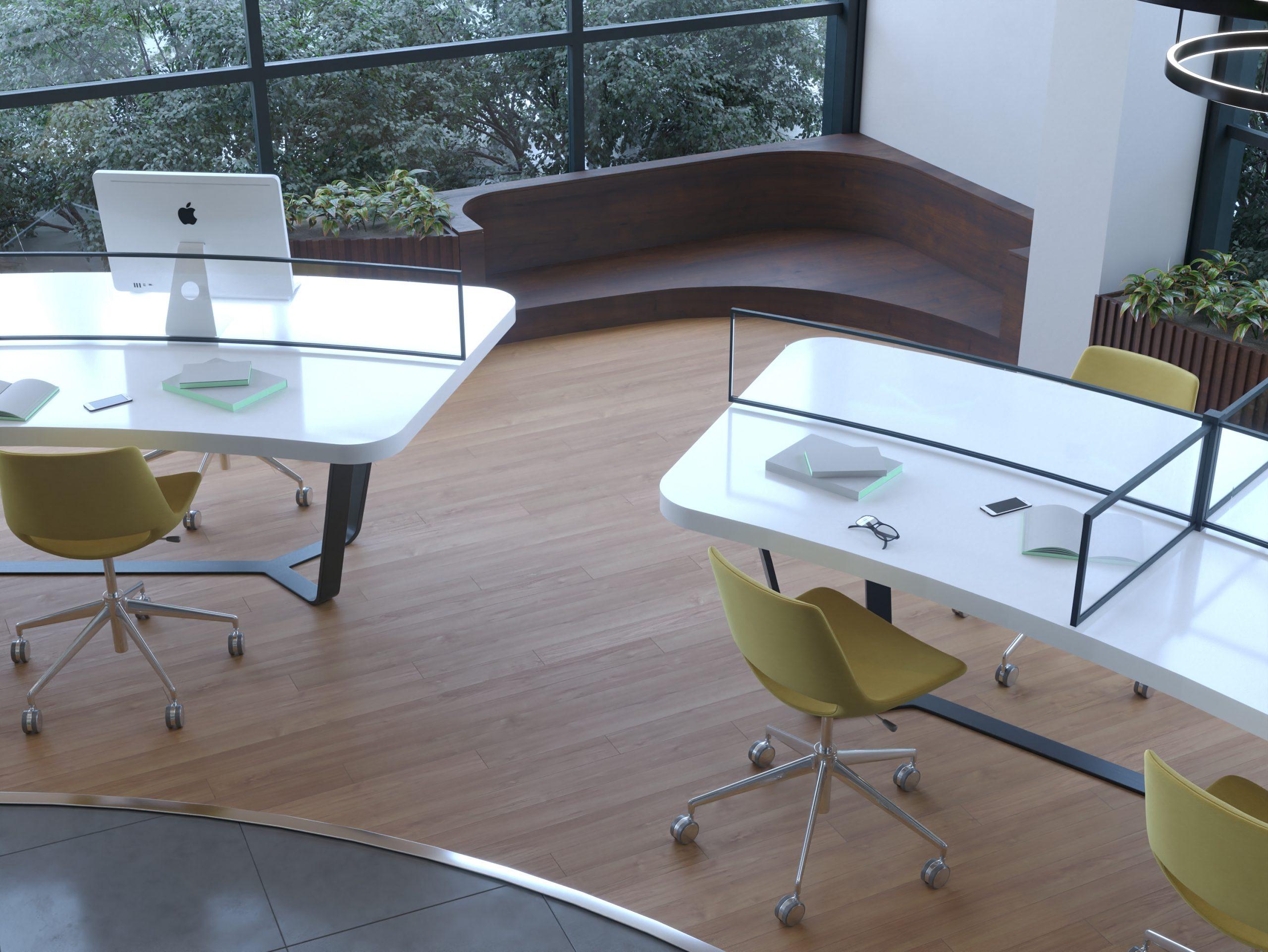 CORNER - WOODEN SOFA - TABLES