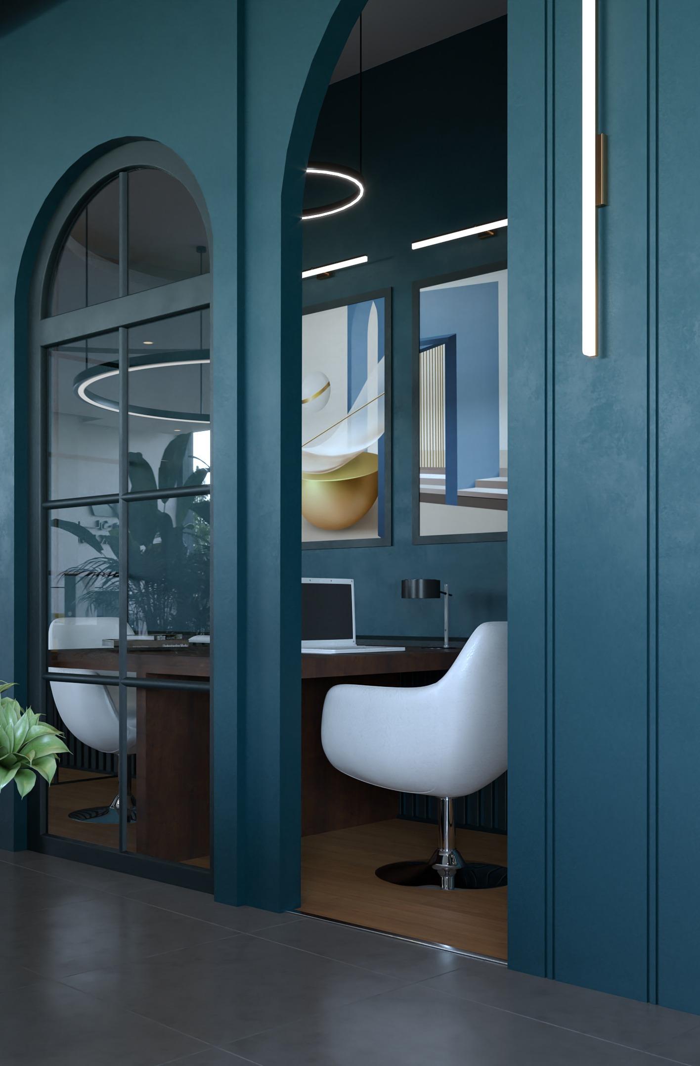SHARIK HUB COMPANY DESIGN - PRIVET ZONE - UNIQUE COLOUR - white chairs - classy touch